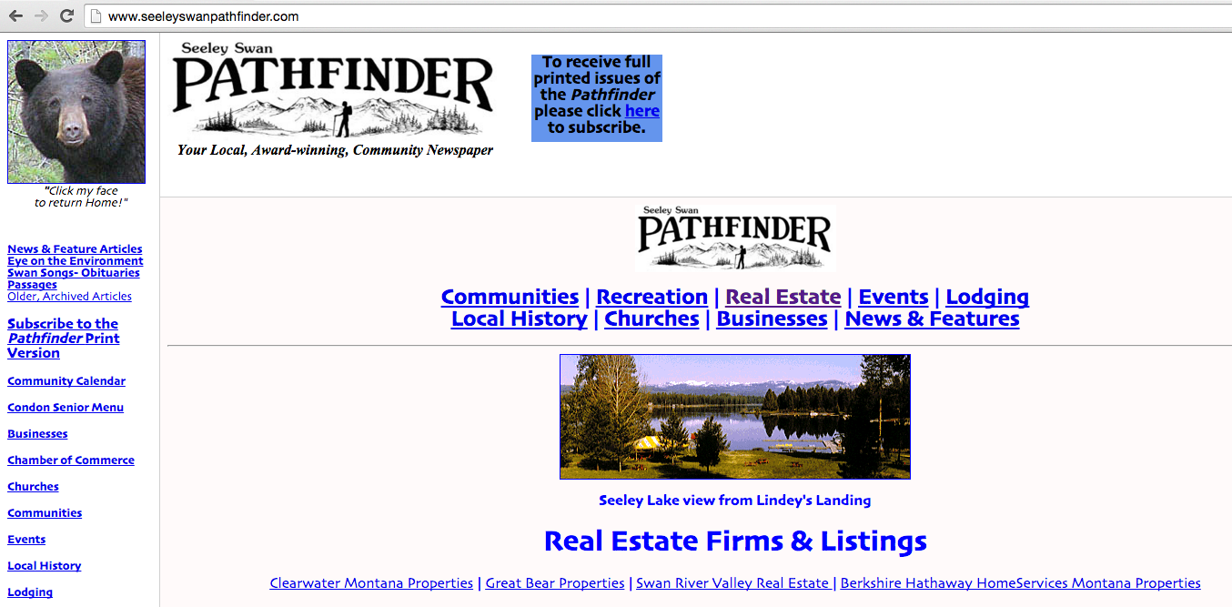 example of a site with iframes